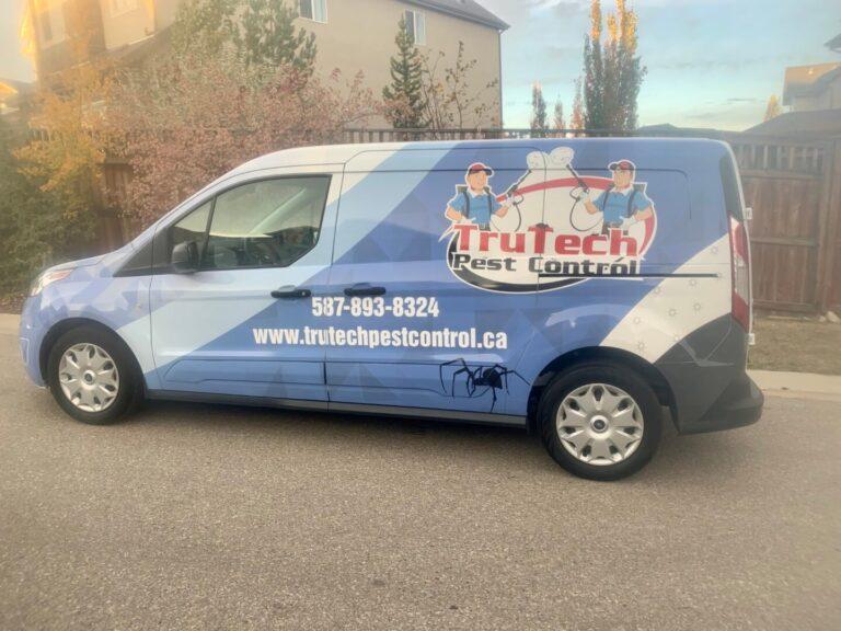 TruTech Pest Control van