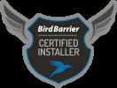 Bird Barrier Certified Installer logo